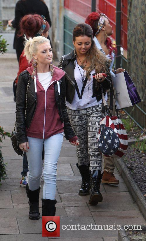 little mix arrive at the x factor 3616878