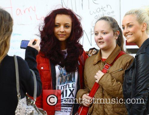 Jade Thirwell and Perrie Edwards of Little Mix...
