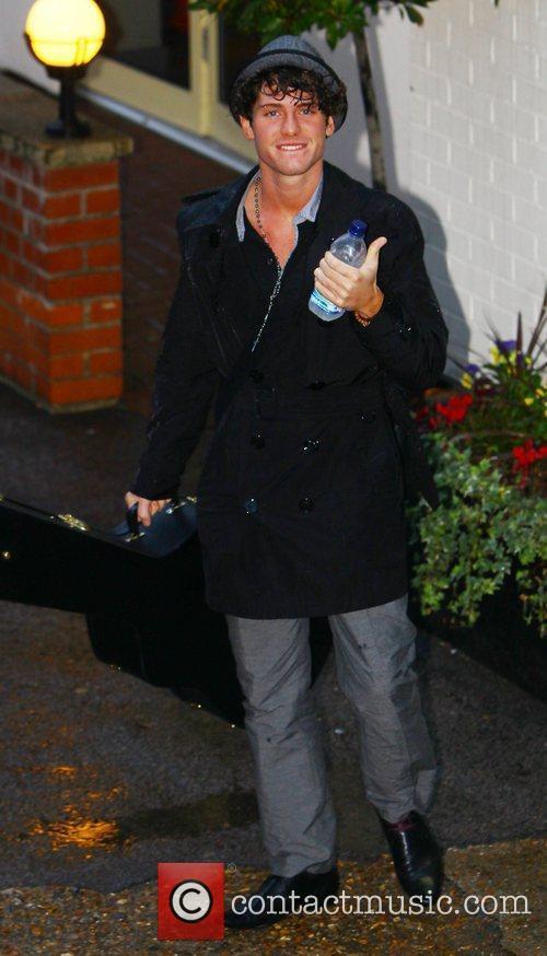 James Michael arrives at the show's studios ahead...
