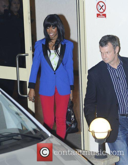 'The X Factor' judges and finalists depart the...