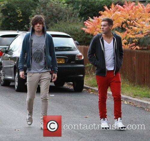 Frankie Cocozza and Andrew Merry Members of The...