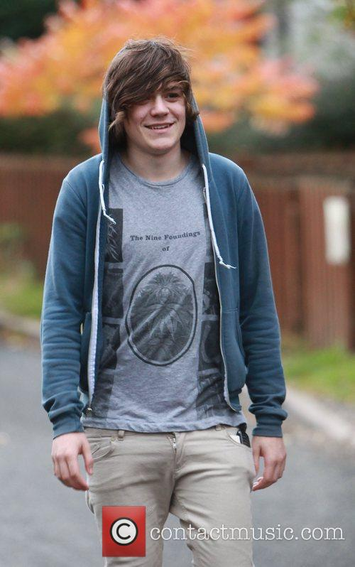 Frankie Cocozza Members of The Risk and Frankie...