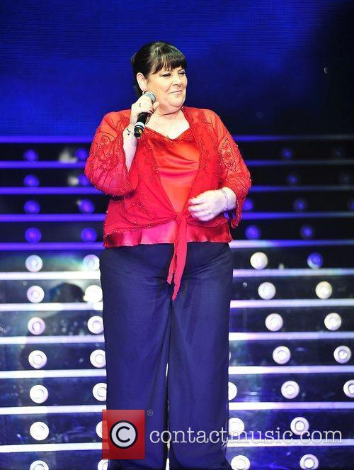 Mary Byrne,  performing at 'The X Factor...