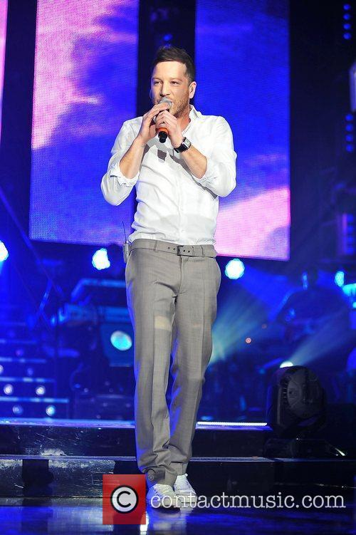 Performing at 'The X Factor - Live Tour'...