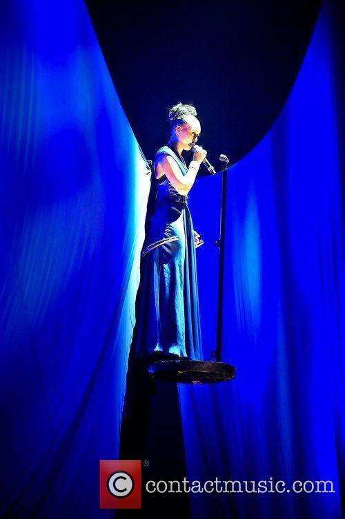 Rebecca Ferguson,  performing at 'The X Factor...