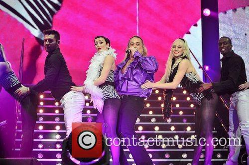 Wagner,  performing at 'The X Factor -...