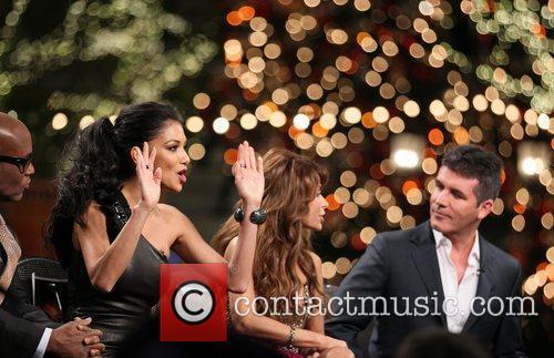 Nicole Scherzinger, Paula Abdul, Simon Cowell and The X Factor 6