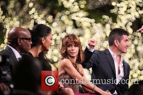 Nicole Scherzinger, Paula Abdul, Simon Cowell and The X Factor 4