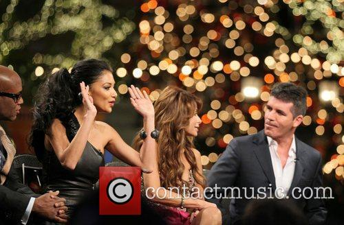 Nicole Scherzinger, Paula Abdul, Simon Cowell and The X Factor 1
