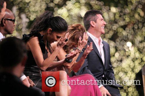 Nicole Scherzinger, Paula Abdul, Simon Cowell and The X Factor 5