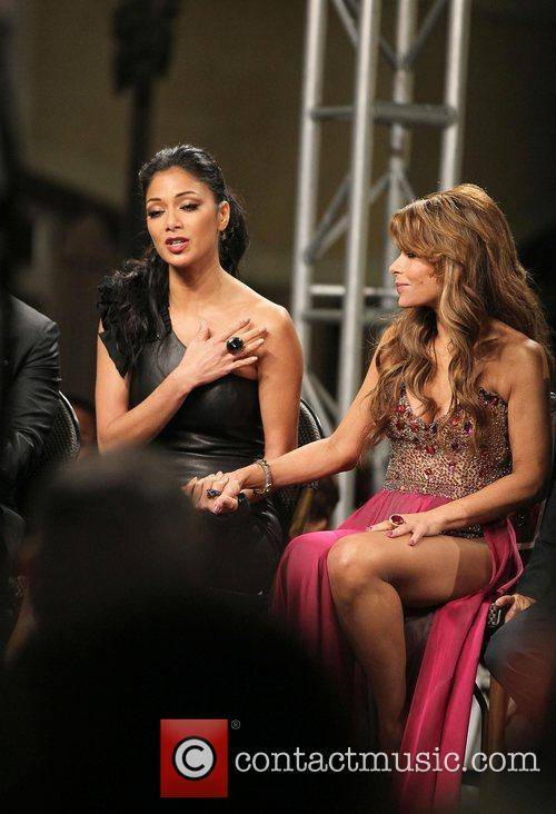 Nicole Scherzinger, Paula Abdul and The X Factor 8
