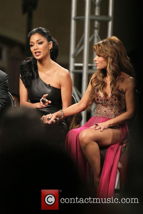 Nicole Scherzinger, Paula Abdul and The X Factor 9