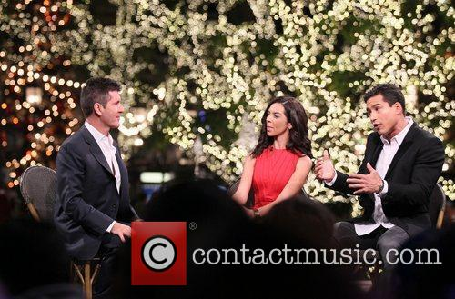 Simon Cowell, Mario Lopez, Terri Seymour and The X Factor 2