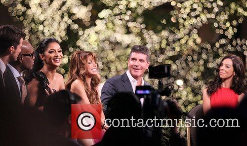 Simon Jones, Nicole Scherzinger, Paula Abdul, Simon Cowell, Terri Seymour and The X Factor 2