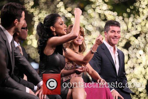 Steve Jones, Nicole Scherzinger, Paula Abdul, Simon Cowell and The X Factor 6