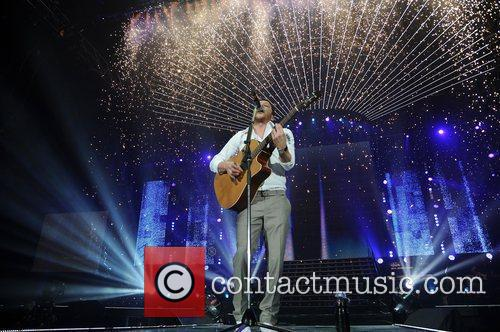 Performing at The X Factor Live 2011 concert...