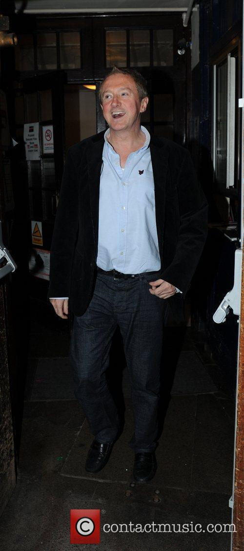 Louis Walsh  Leaving the Palace Theatre after...