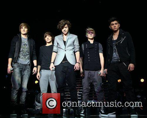 One Direction performances from the opening night of...