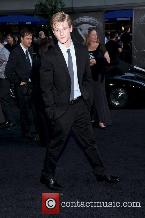 Lucas Till at the New York premiere of...