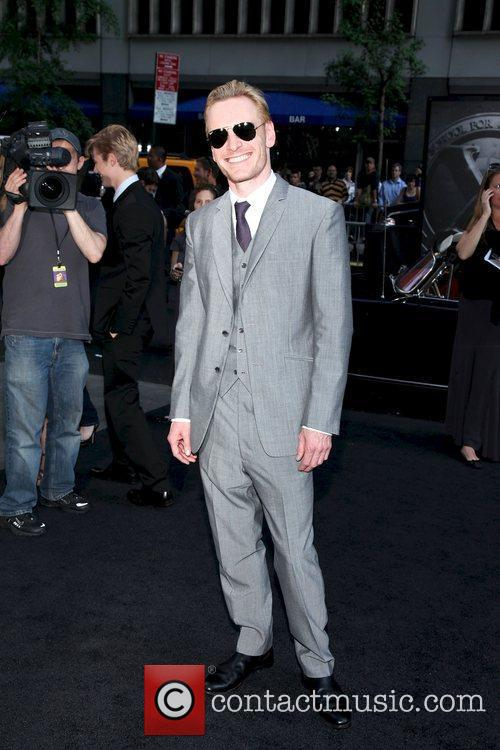 Michael Fassbender  at the New York premiere...