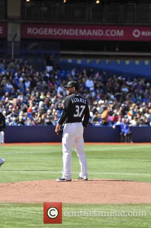 New York Yankees Vs. Toronto Blue Jays held...