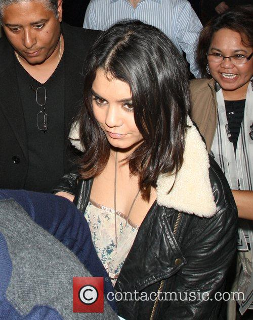 Vanessa Hudgens leaving Yauatcha restaurant in Soho