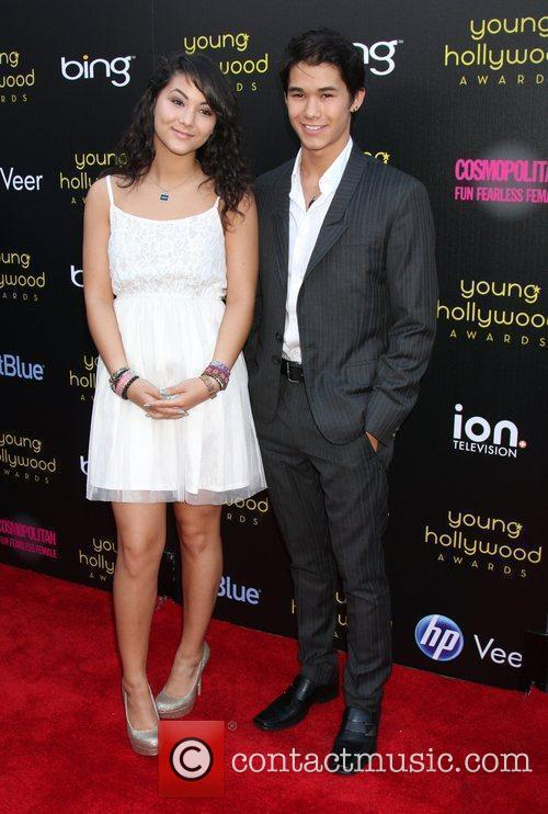 Boo Boo Stewart and Malese Jow