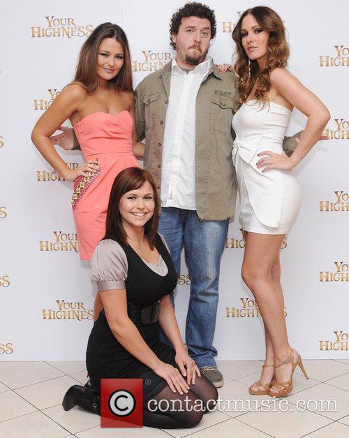 Danny McBride, Eva Wyrwal, Paige Tyler and Amii...