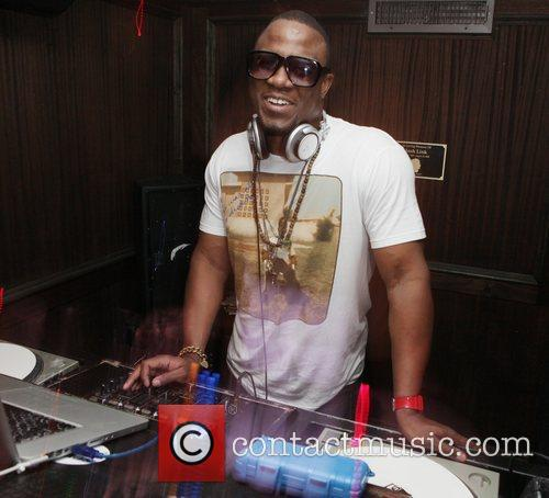 DJ M.O.S.  attends YRB magazine issue release...
