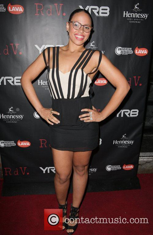 Attends YRB magazine issue release party at RDV