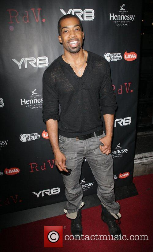 J. Harris  attends YRB magazine issue release...