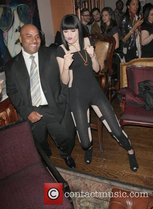 Jessie J and Guest attend YRB magazine issue...