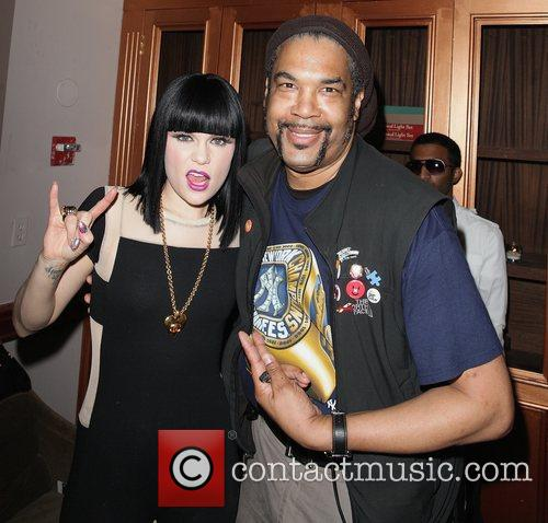 Jessie J and Photographer Phillippe Noisette attend YRB...