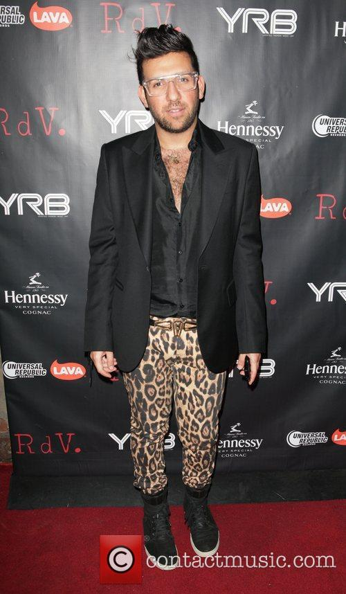 Ken Borochov attends YRB magazine issue release party...