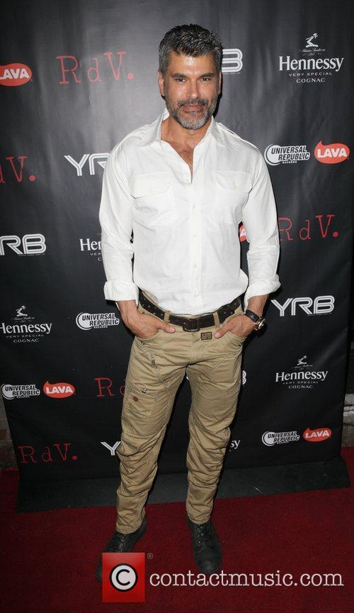 Mike Ruiz attends YRB magazine issue release party...