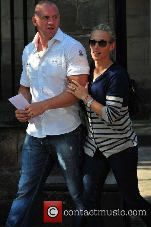 Zara Phillips and Mike Tindall 11