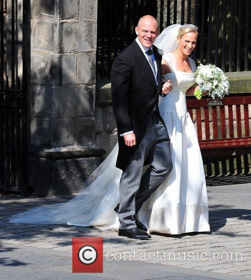 Mike Tindall and Zara Phillips  The wedding...