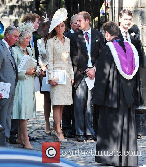 Prince Charles, Duchess and Prince William 4