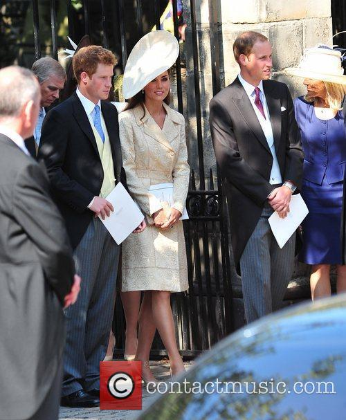 Prince Harry, Duchess and Prince William 1