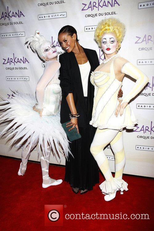 Selita Ebanks World premiere of Cirque du Soleil...