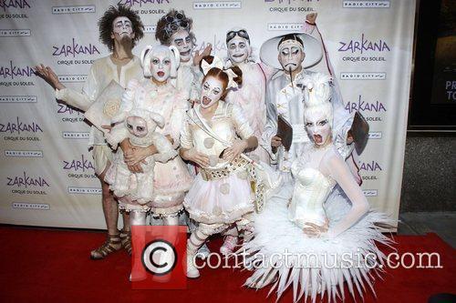 Cast  World premiere of Cirque du Soleil...