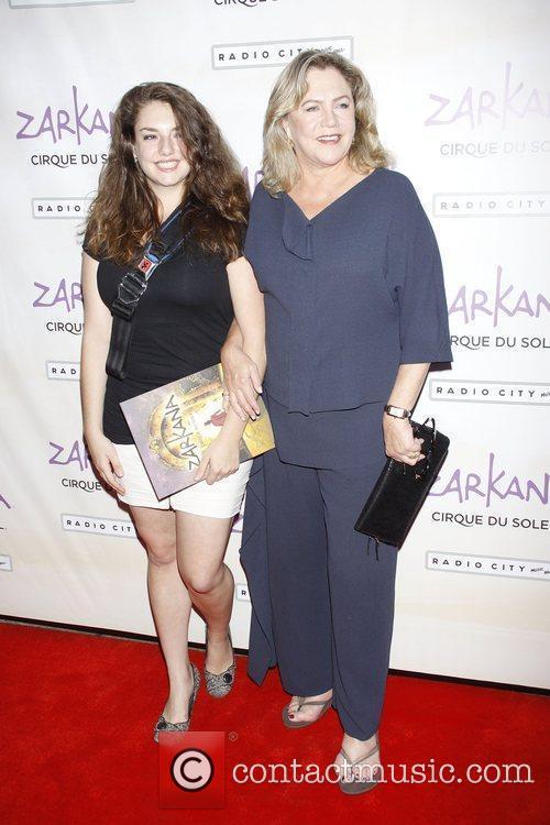 Rachel Ann Weiss and Kathleen Turner  World...