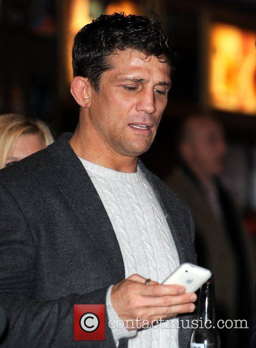 Alex Reid receives a text message  UK...