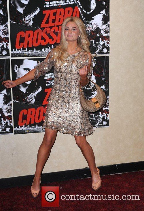 Emma Rigby UK premiere of 'Zebra Crossing' at...