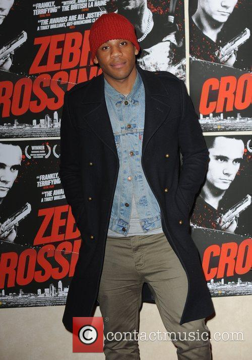 UK premiere of 'Zebra Crossing' at the Empire...