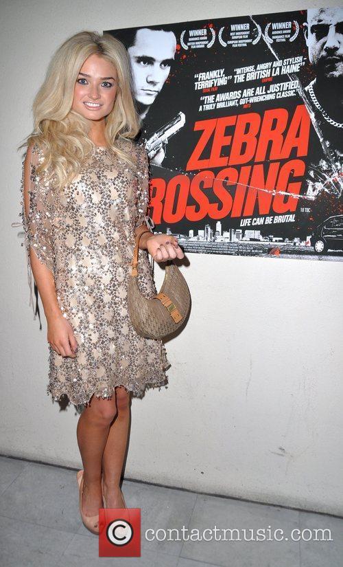 Emma Rigby at the UK premiere of 'Zebra...