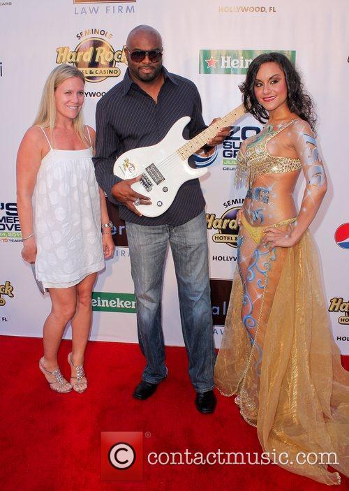 Lamar Thomas, Suki Jaafar at Zo's Summer Groove...