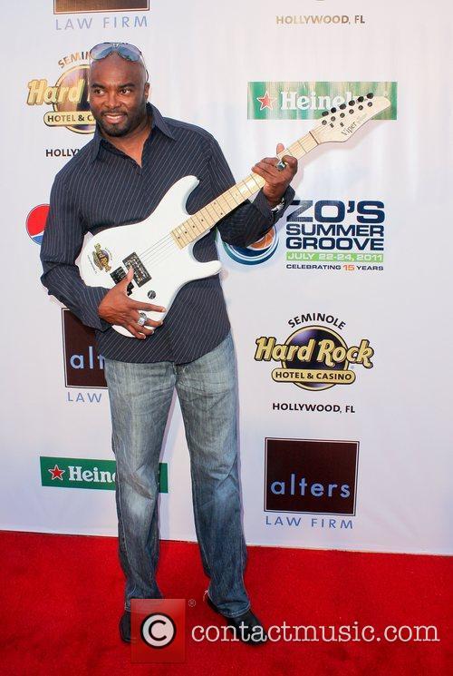 Lamar Thomas at Zo's Summer Groove Hard Rock...