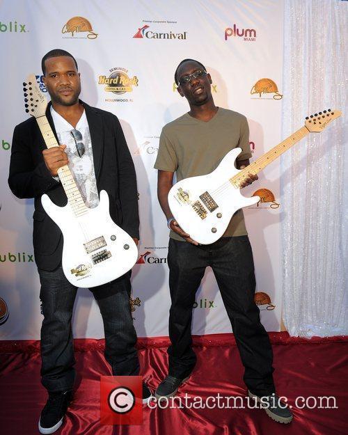 Black Violin arrives at Zo Summer Groove Benefit...