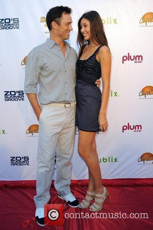 Jeffrey Donovan,Michelle Wood arrives at Zo Summer Groove...